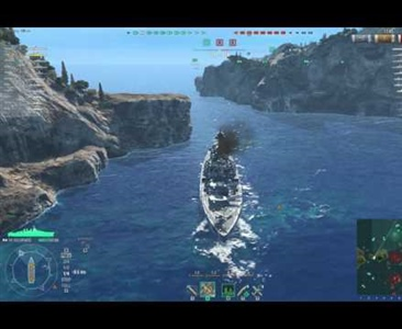 "World of Warships - Tattiche di Combattimento con il ""Colorado"" (USA)."
